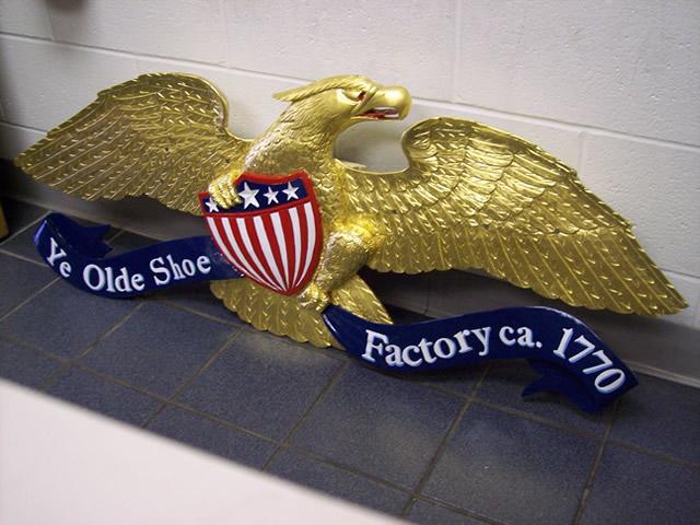 Carved Eagle John Shortell